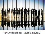 business people meeting...   Shutterstock . vector #335858282