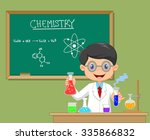 laboratory researcher  ... | Shutterstock . vector #335866832