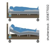 Adjustable Bed And Human...