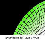 the green vector abstract... | Shutterstock .eps vector #33587935