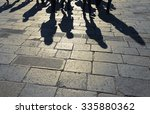 Shadows Of Group Of People...