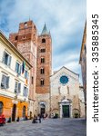 View Of Albenga Cathedral And...