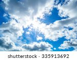 Sky Clouds Sky Clouds Sun - Fine Art prints
