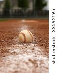 baseball on the baseline | Shutterstock . vector #33592195