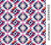 tribal seamless colorful...   Shutterstock .eps vector #335949455