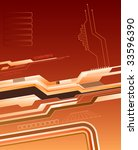 abstract futuristic background | Shutterstock .eps vector #33596390
