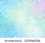 colorful blue green pink... | Shutterstock .eps vector #335966306