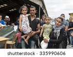 passau  germany   august 1st ... | Shutterstock . vector #335990606