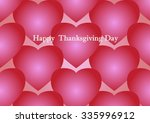 thanksgiving greeting card on... | Shutterstock .eps vector #335996912