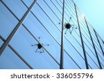quadrocopter unmanned aerial... | Shutterstock . vector #336055796