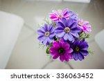 plastic flower for decoration | Shutterstock . vector #336063452