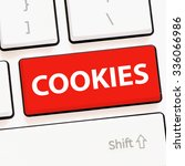 Computer Keyboard With Cookies