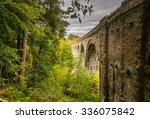Lambley Viaduct In Woodland  ...
