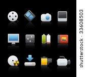 multimedia set for multiple... | Shutterstock .eps vector #33608503