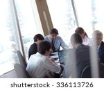 young business people group... | Shutterstock . vector #336113726