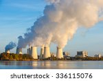 Smoking Pipes Of Thermal Power...