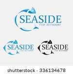 vector logo with different... | Shutterstock .eps vector #336134678