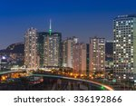 seoul cityscape and seoul tower ...   Shutterstock . vector #336192866