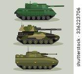 military vector tanks image... | Shutterstock .eps vector #336223706