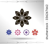 flower   Shutterstock .eps vector #336267662
