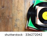 records stack with record on... | Shutterstock . vector #336272042
