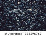 Dark Texture Pebble Closeup....