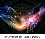 coordinates of science series.... | Shutterstock . vector #336310592