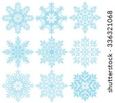 snowflakes   christmas   snow   ... | Shutterstock .eps vector #336321068