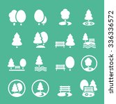 park icons set vector | Shutterstock .eps vector #336336572