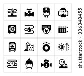 set icons of heating isolated... | Shutterstock .eps vector #336348455