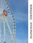 wien   august 1  giant ferris... | Shutterstock . vector #336350606