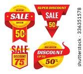suoer big sale   creative... | Shutterstock .eps vector #336351578