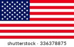 official flag of united states... | Shutterstock . vector #336378875