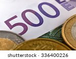 Euro Coins And Euro Banknotes ...