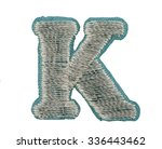 fonts that are stitched with... | Shutterstock . vector #336443462