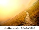 fog in mountains. fantasy and... | Shutterstock . vector #336468848