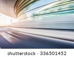 car driving on road in city... | Shutterstock . vector #336501452