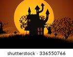 A Creepy Halloween Palace With...