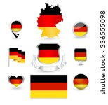 Germany Flag Collection. Vector ...