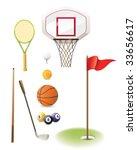 sport detail vector   Shutterstock .eps vector #33656617