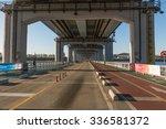 seoul   october9  sunset of... | Shutterstock . vector #336581372