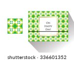 vector patterns can be used for ... | Shutterstock .eps vector #336601352