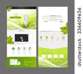 eco business one page website