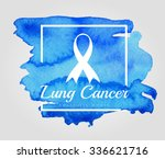 Lung Cancer Ribbon Awareness...