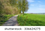 path along a meadow in spring  | Shutterstock . vector #336624275