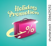 holiday promotion | Shutterstock .eps vector #336629252