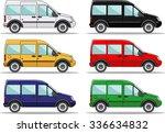 detailed illustration of six... | Shutterstock .eps vector #336634832