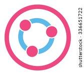collaboration vector icon.... | Shutterstock .eps vector #336651722