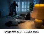 intrusion of a burglar in a...
