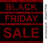 black friday sale announcement... | Shutterstock .eps vector #336657908